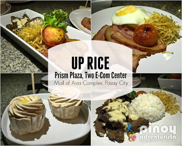 UP Rice Prism Plaza Mall of Asia Complex Pasay City