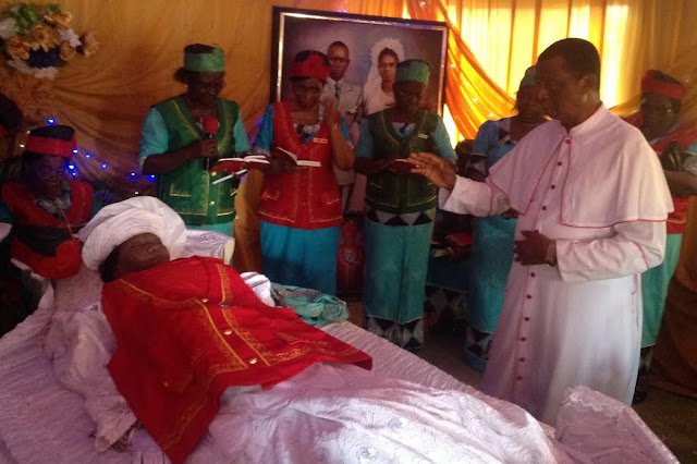 Lady Victoria Onochie burial