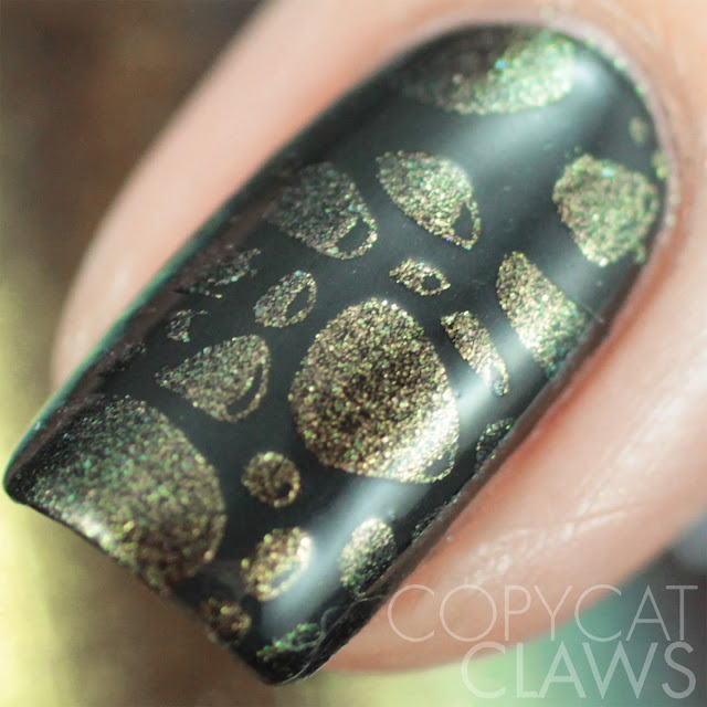 Moonflower Polish Hidden Rose stamping polish