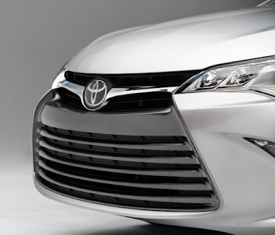toyota camry 2017 front bumper view image
