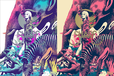 Thought Bubble 2017 Exclusive Young Animal Screen Print Series by Mondo x DC Comics - Shade the Changing Girl Regular & Variant Editions by Matt Taylor
