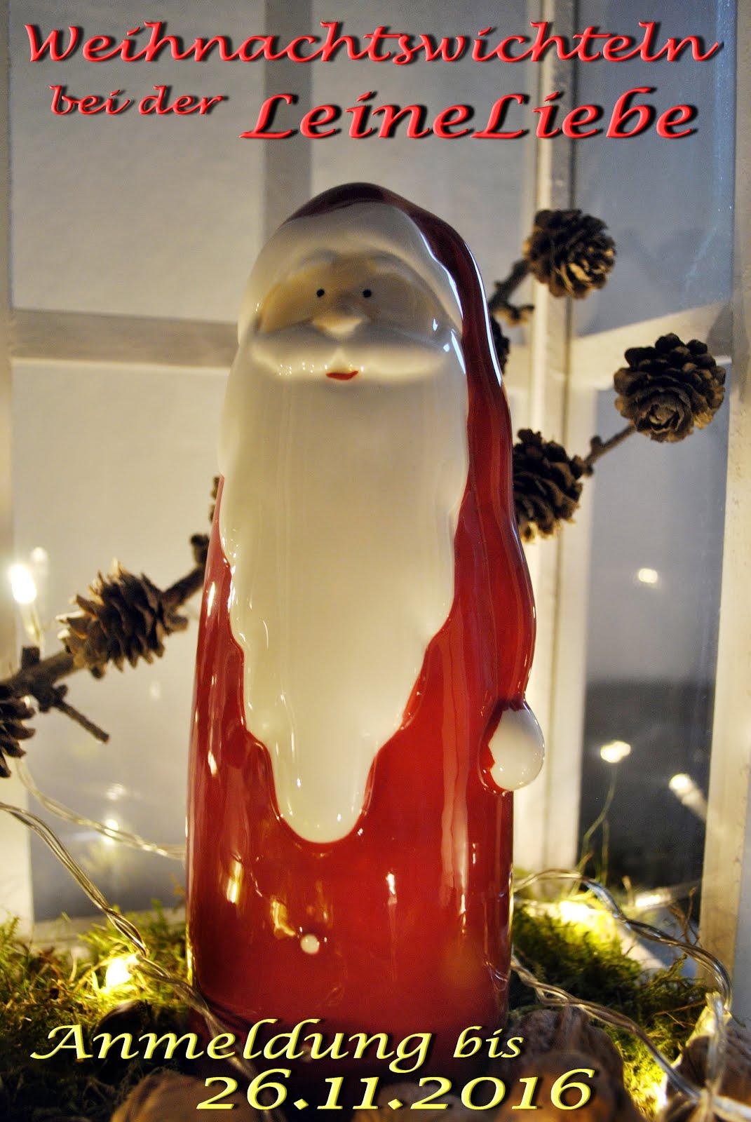 Weihnachtswichteln bei Leineliebe