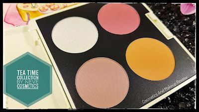 Neve Cosmetics - Tea Time Collection - cialde ombretti e blush