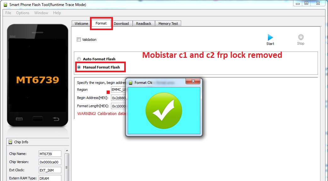 Mobiistar C2 and Mobiistar C1 MTK Secure Boot FRP Lock