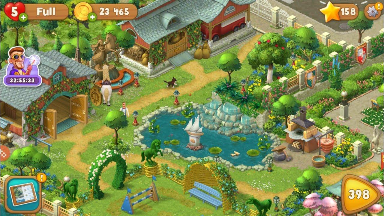 تحميل لعبة gardenscapes مهكرة للاندرويد