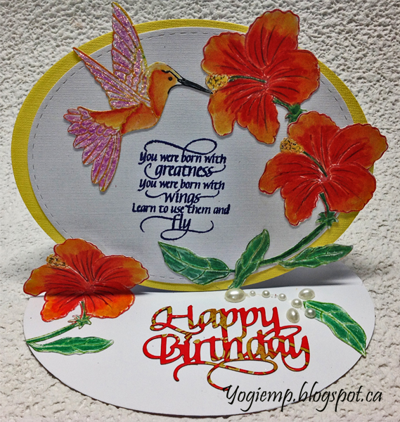 http://www.yogiemp.com/HP_cards/MiscChallenges/MiscChallenges2019/Mar19_OvalEaselHibiscus_ECDHappyBirthday_YouWereBornWithGreatness.html