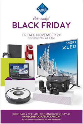Sam's Club 2017 Black Friday Ad