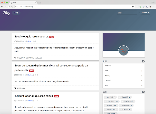Source Code Membuat Blog dengan Framework Laravel