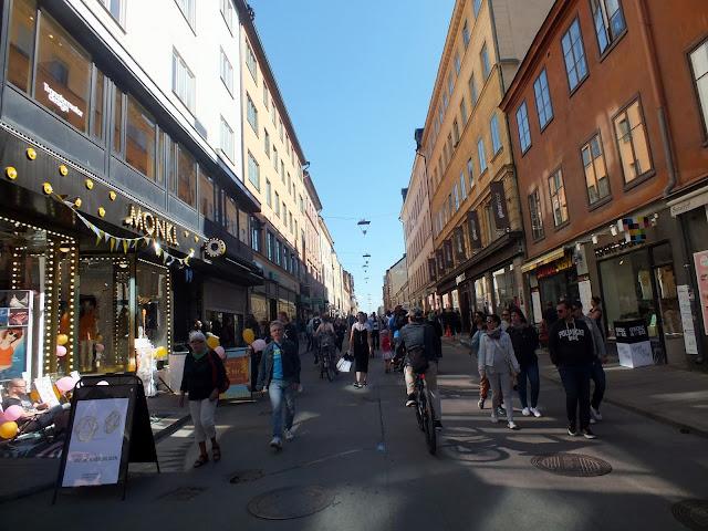 ambiente calles estocolmo