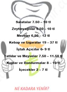 uludag menu fiyatlari