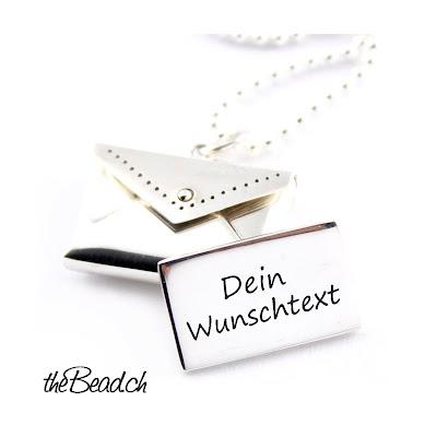 Liebesbrief Silberschmuck Online kaufen bei www.thebead.ch