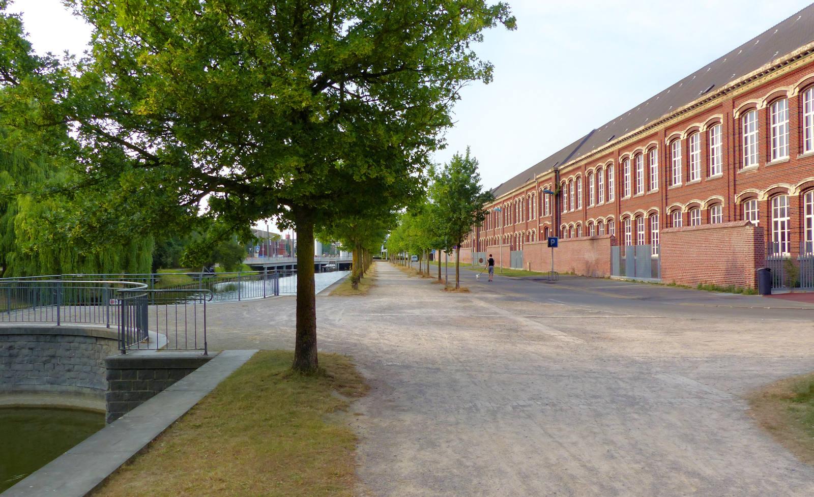Lycée Gambetta Tourcoing - Canal de Tourcoing