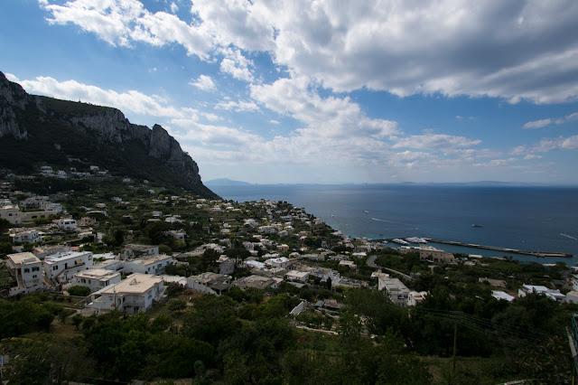Vista dalla piazzetta-Capri