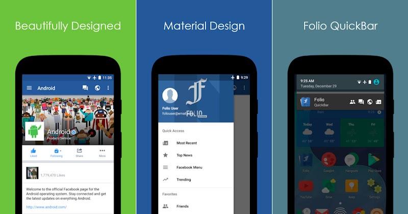 تطبيقين يمكنانك من تصفح الفيسبوك دون الحاجة لذاكرة كبيرة او انترنت سريع