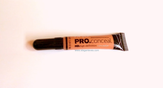 Review Swatches LA Girl Pro HD concealer Warm Honey India Images