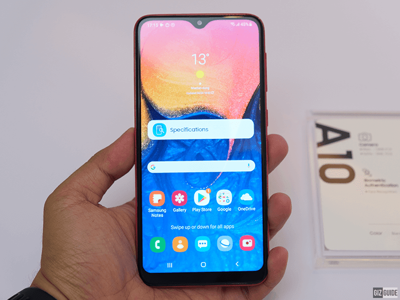 Galaxy A10's local price tag is crazy low for a Samsung phone with great looks!