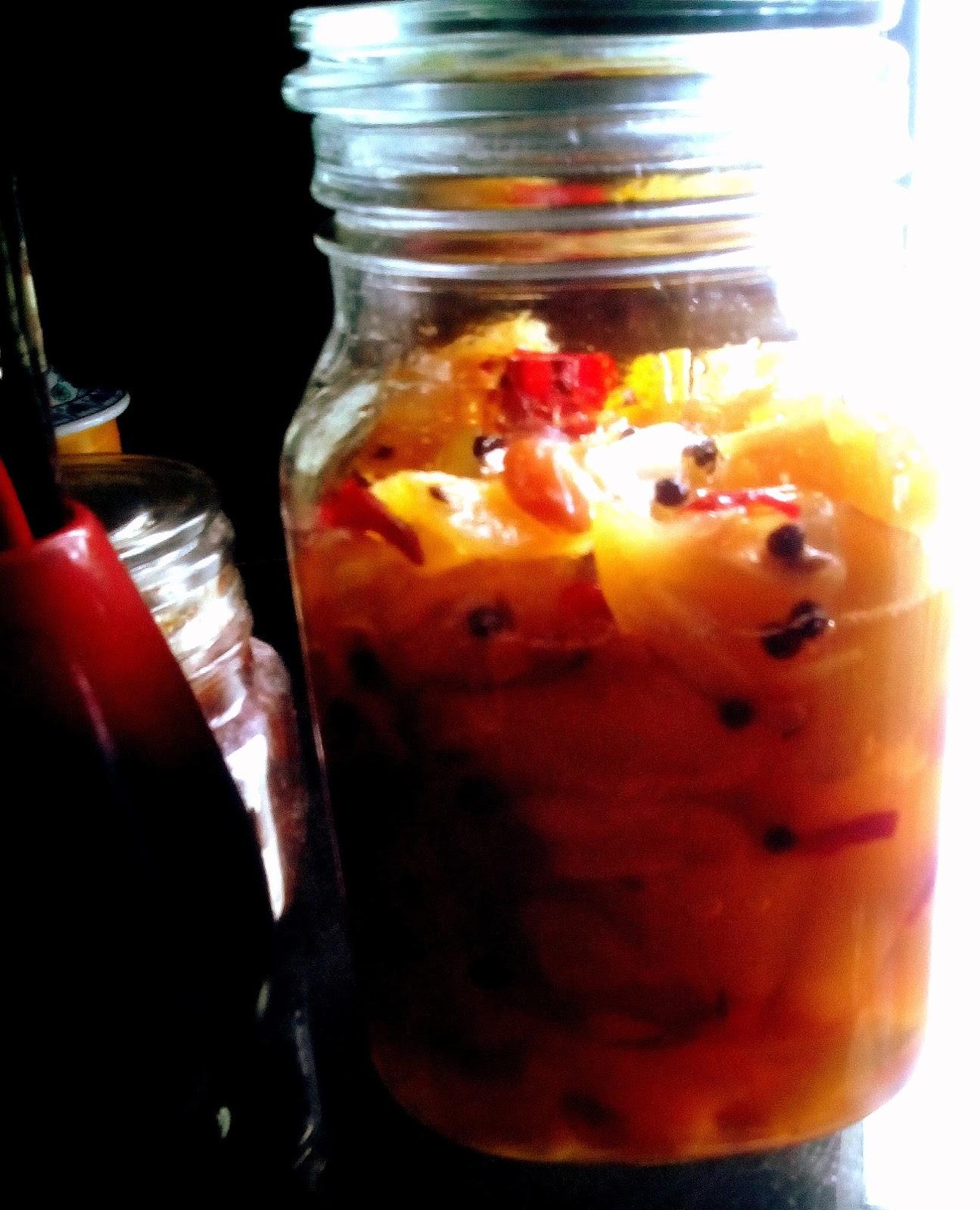 mango murobba sweet pickle