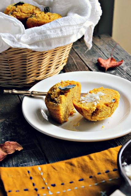 Sweet Potato & Sage Corn Muffins