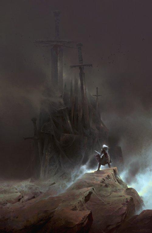 Max Bedulenko artstation arte ilustrações sombrias fantasia ficção terror