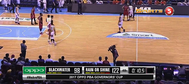 Rain or Shine def. Blackwater, 122-98 (REPLAY VIDEO) September 23