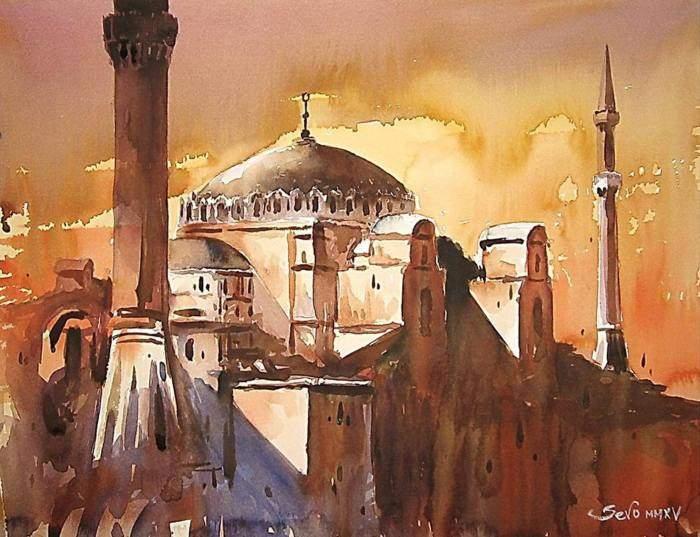 24 لوحة للرسام Dejan Sevo