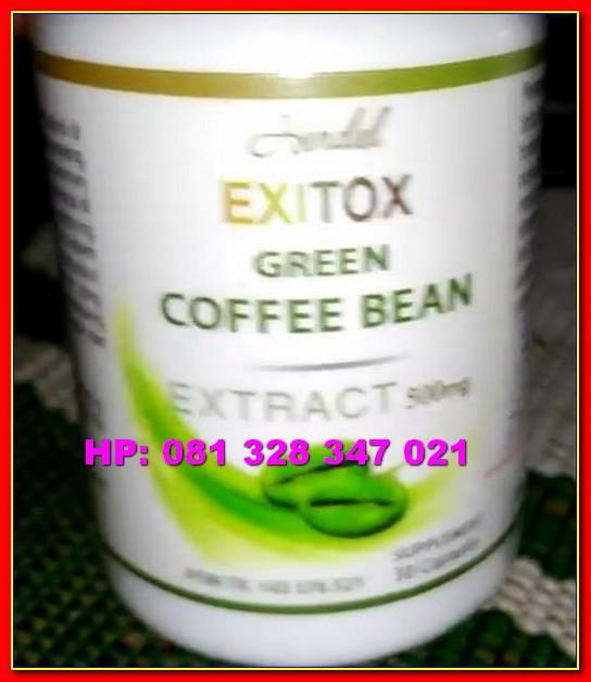 Kapsul Green coffee Bean Hendel Exitox Obat Herbal ...
