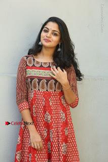 Telugu Actress Nikhila Vimal Latest Stills in Anarkali Dress  0083.JPG
