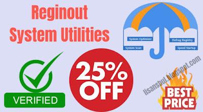 reginout system utilities full version registration key, license code, discount coupon code, rabatt