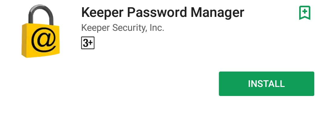 Keeper free password manager