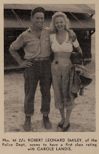 Carole Landis With A Soldier