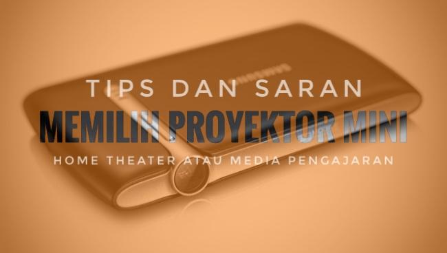 memilih mini portabel proyektor