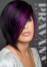 Sexy Purple Highlights Images And Video Tutorials