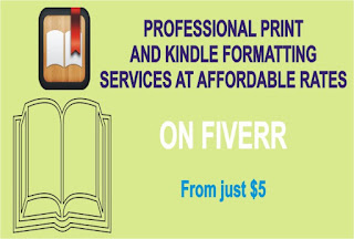 Fiverr kindle direct publishing book formatting
