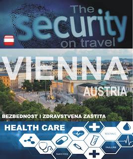 Beč, Austrija – Bezbednost i zdravstvena zaštita