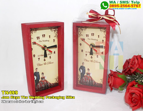 Jam Kayu The Wedding Packaging Mika
