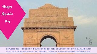 Happy Republic Day | Republic Day honours the date on which the Constitution of India came into effect on 26 January 1950 replacing the Government of India Act (1935) as the governing document of India