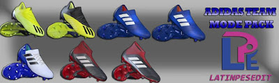 PES 2018 / PES 2017 Adidas Team Mode Pack 2018 by LPE09