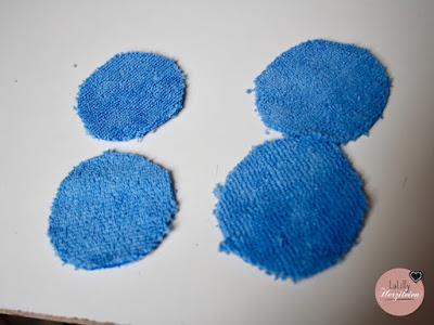 Mikrofaserpads nähen