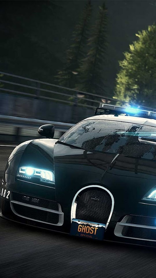 Need for Speed Rivals Bugatti Cop Car   Galaxy Note HD Wallpaper