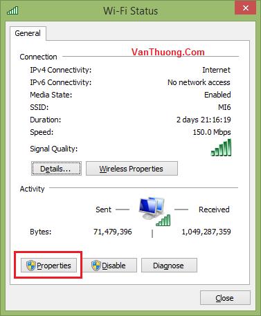 Cách đổi DNS vào Facebook bước #3