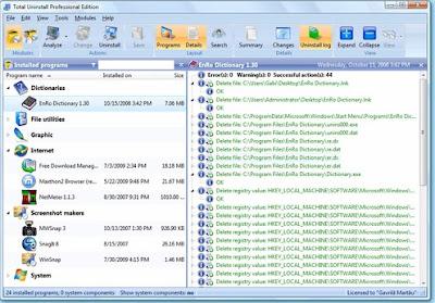 Screenshot Total Uninstall Pro 6.21.1 Full Version