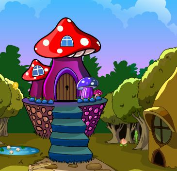 Games4King Mushroom House…