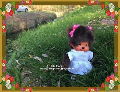kiki monchhichi poupée doll forêt rouelles normandie le havre