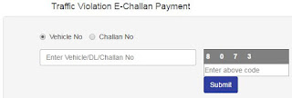 Traffic Violation E Challan Payment Mumbai