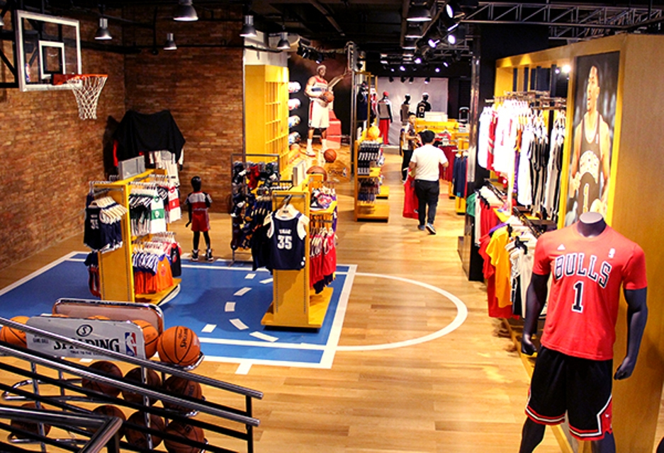 f9b0d04b5cee The Philippines is now home to three NBA Stores located at Glorietta 3