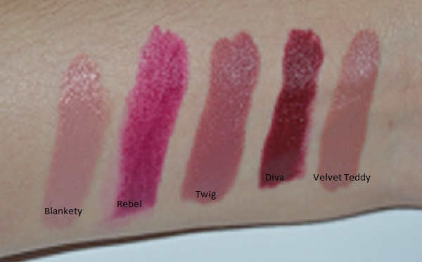 top 5 mac lipsticks for fall swatches