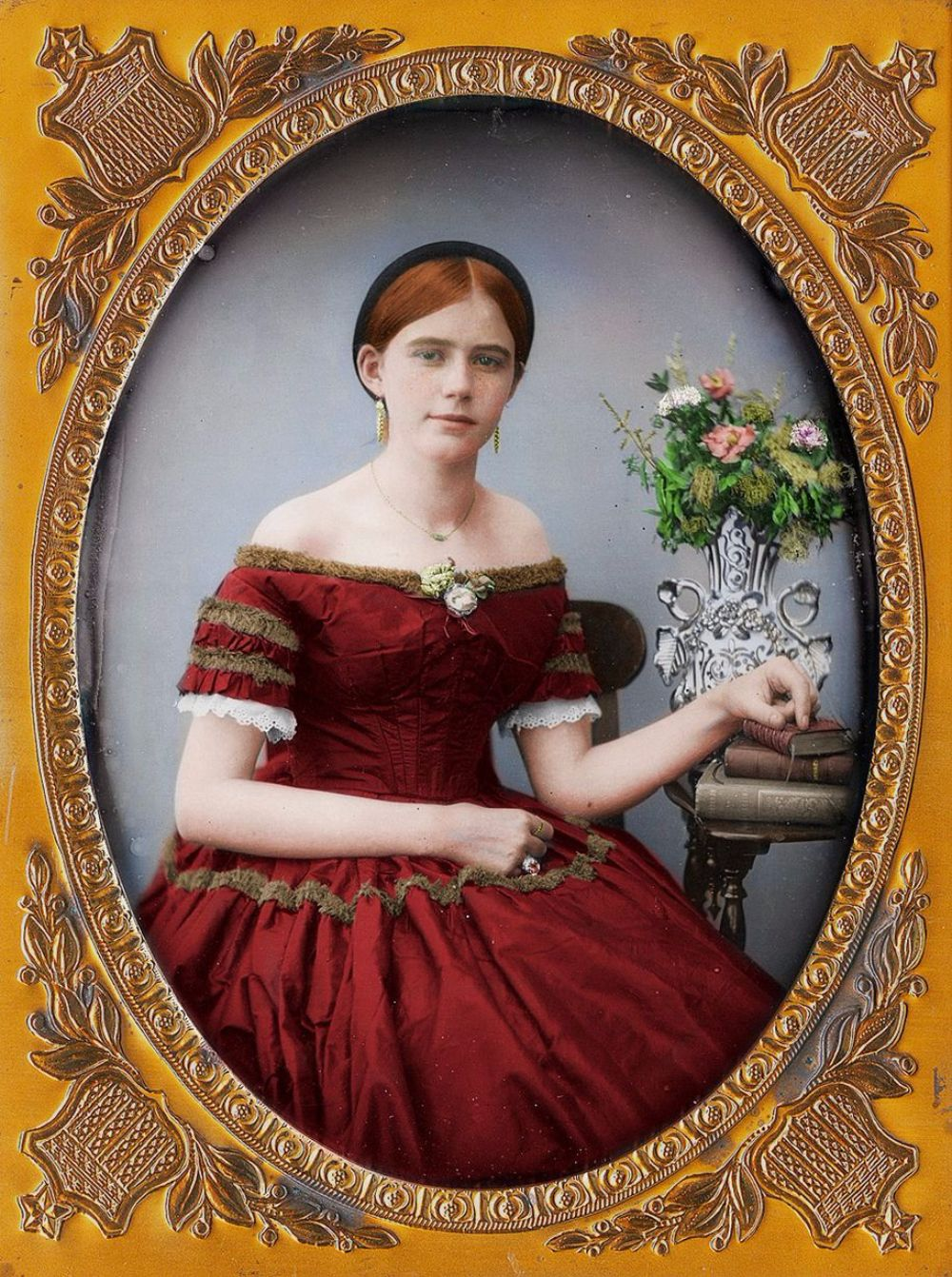 Striking Victorian Portraits Have Been Brought Into the ...Victorian Woman Portrait