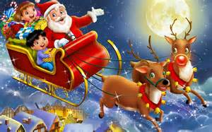 Click on Santa and the links below