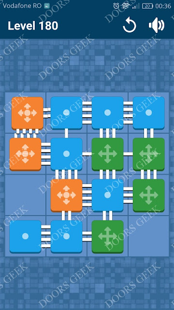 Connect Me - Logic Puzzle Level 180 Solution, Cheats, Walkthrough for android, iphone, ipad and ipod