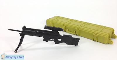 4D plastic 1:6 model toy gun SL8 1
